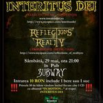 Concert Interitus Dei in Club Subway din Bacau