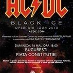 Programul concertului AC/DC din Bucuresti