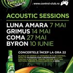 Concert Byron in Club Control din Bucuresti