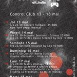 Control Alt.Idie Fest la Club Control din Bucuresti