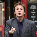 Paul McCartney sustine prima sa conferinta web