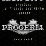 Concert Progeria in clubul Iron City din Bucuresti