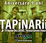 Concert aniversar cu Tapinarii in Green Hours din Bucuresti