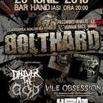 Concert Bolthard in Club Hand din Iasi