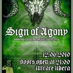 Concert Sign Of Agony in Club Propaganda din Sibiu