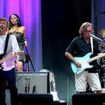 Poze cu Eric Clapton in concert la Bucuresti