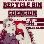 Concert Recycle Bin si Coercion in Club Pulse din Constanta