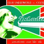 Concert Dekadens in Underworld Bucuresti