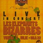 Concert Les Elephants Bizarres in Elephant Bucuresti