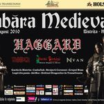 Cimpoaie si tobe medievale in deschiderea concertului Haggard