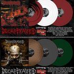 Albumele Decapitated au fost lansate pe vinil