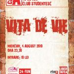 Concert Vita De Vie in Club A din Bucuresti