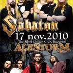 Steelwing canta in deschiderea concertului Sabaton si Alestorm la Bucuresti