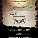 Concert Saturnus, October Tide si Forgotten Tomb la Bucuresti