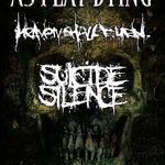 Turneu european As I Lay Dying, Heaven Shall Burn si Suicide Silence