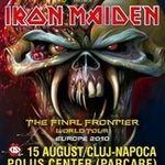 Filmari de la concertul Iron Maiden din Cluj Napoca