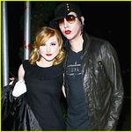 Marilyn Manson s-a despartit de Evan Rachel Wood