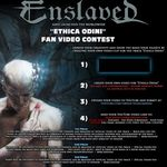 Enslaved invita fanii la un concurs video international