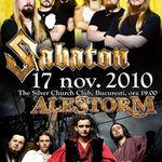 Spot video pentru concertul Sabaton si Alestorm din Bucuresti