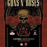 Filmari cu Guns N Roses in Italia