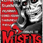 Concert tribut Misfits in club Elephant Bucuresti