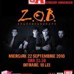 Concert ZOB in Club A din Bucuresti