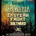 Concert Cadaveria si Eastern Front la Bucuresti