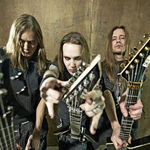 Filmari din studio cu Children Of Bodom