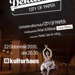Dekadens lanseaza albumul City of Paper