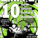 Concert aniversar E.M.I.L. in club Fabrica Bucuresti