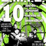 E.M.I.L.: Concert aniversar si lansare DVD in Club Fabrica