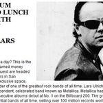 35.000 de dolari pentru o lectie de tobe alaturi de Lars Ulrich