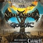 Concertul Nox Aurea se muta in Cage Club