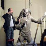 Dezvelirea oficiala a statuii lui Dio are loc sambata la Kavarna