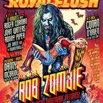 Rob Zombie a cantat la lansarea revistei Royal Flush (video)