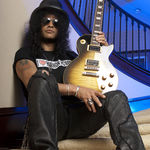 Slash canta la radio Rockline