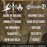 Basistul Entombed lanseaza blogul de turneu (video)