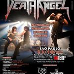 Filmari cu Death Angel in Brazilia