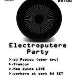Electroputere Party cu Mes Quins in club Fabrica Bucuresti