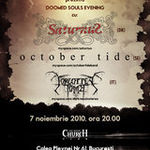 Concert Saturnus, October Tide si Forgotten Tomb duminica la Silver Church