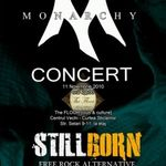 Concert Stillborn si Monarchy in Club The Floor din Bucuresti