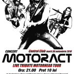Concert MotorACT in Club Control din Bucuresti