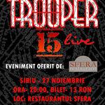 Trooper anunta un nou concert in Sibiu