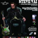 Castiga 4 bilete la concertul Steve Vai la Bucuresti! Pe Facebook!