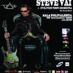 City FM iti ofera bilete gratis la concertul Steve Vai