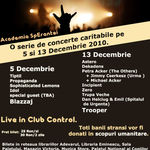 Concert Incipient in club Control din Bucuresti