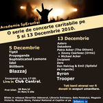 Academia SpErantei: Concert rock caritabil in Club Control