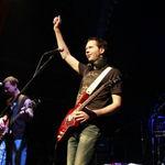 Poze cu Paul Gilbert in concert la Bucuresti