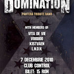 Domination: 90 de minute de Pantera live marti in Club Control