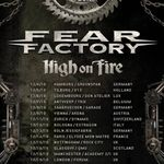 Filmari cu Fear Factory in Olanda
